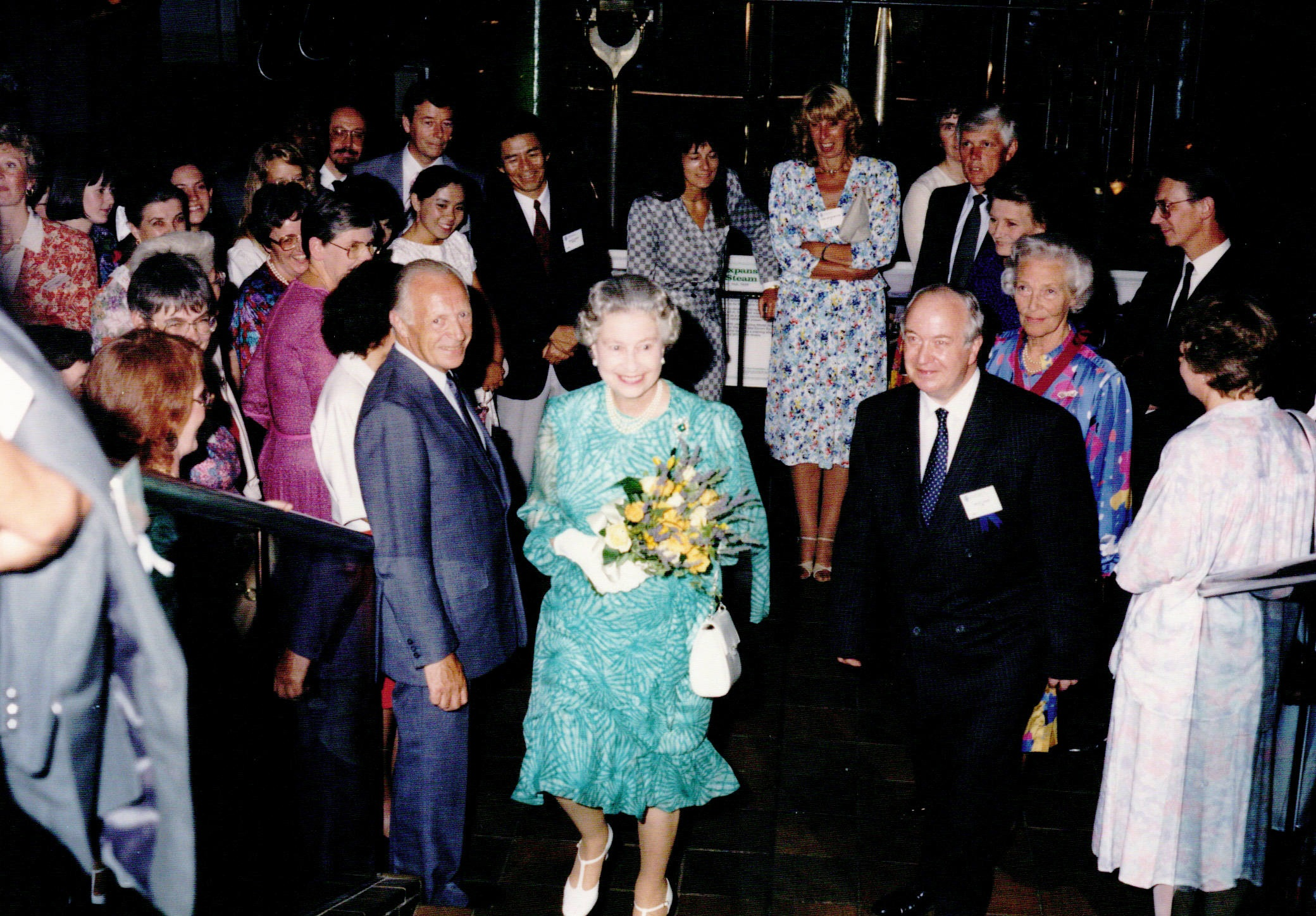 Queen Elizabeth II attends opening ceremony in London