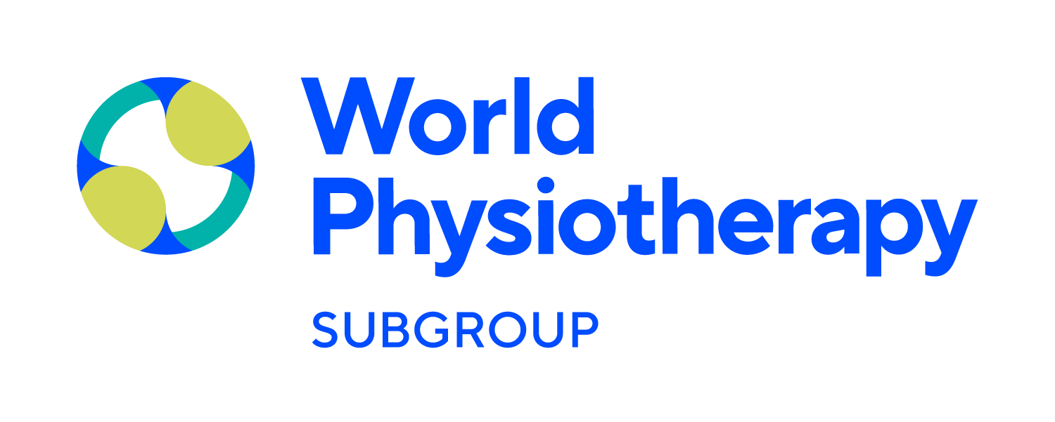 World Physiotherapy Subgroup logo