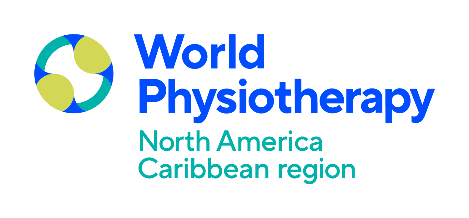World Physiotherapy North America Caribbean Region logo