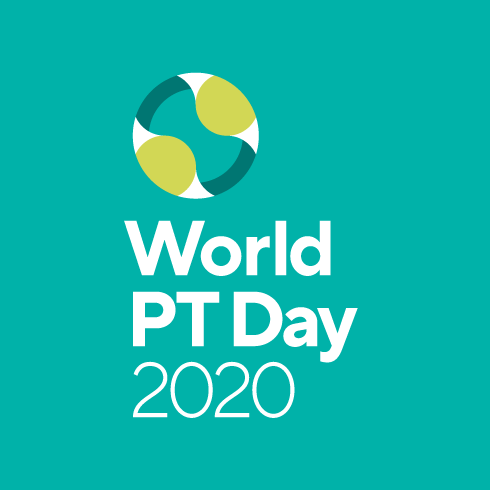 World PT Day 2020 logo
