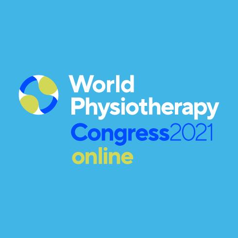 Logo des Weltkongresses für Physiotherapie 2021
