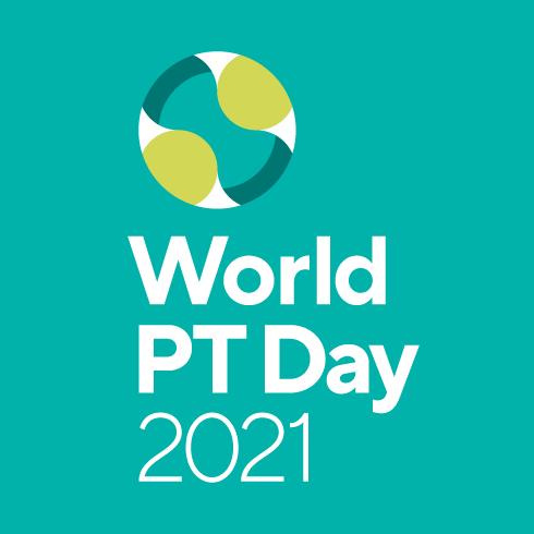 世界PTデー2021のロゴ