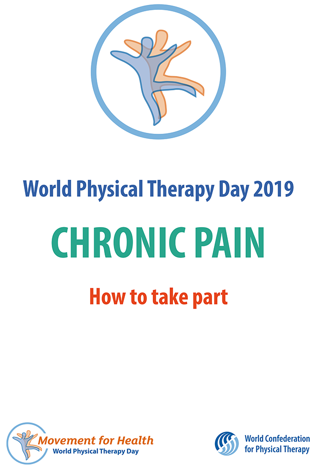 Image of World PT Day 2019 booklet on how to take part