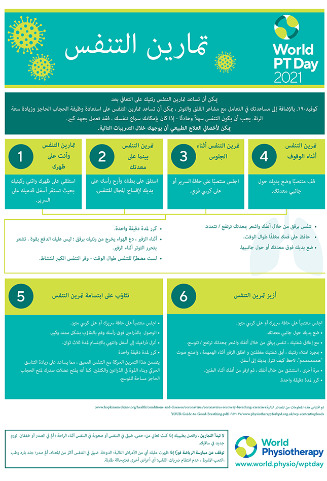 Gambar untuk Hari PT Sedunia 2021 InfoSheet 5 dalam bahasa Arab