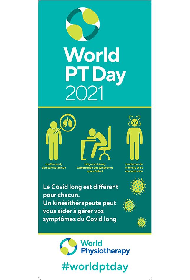 Gambar untuk spanduk Hari PT Sedunia 2021 dalam bahasa Prancis