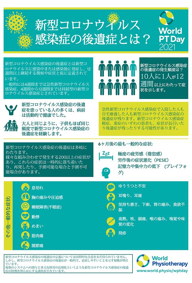 World PT Day information sheet 1. Japanese