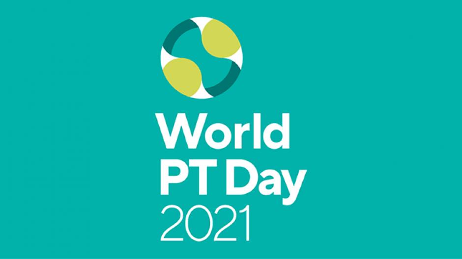 Imagen del logo del Día Mundial del PT 2021