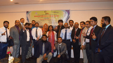 World PT Day 2020 celebrations in Bangladesh