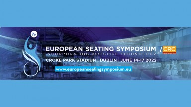 Logo untuk Simposium Tempat Duduk Eropa 2022