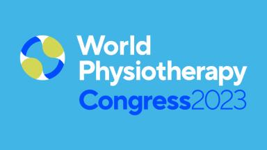 Logotipo del Congreso Mundial de Fisioterapia 2023