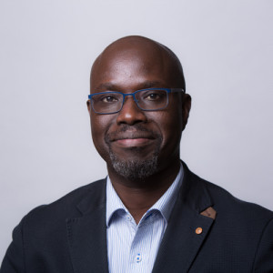 Headshot of Sidy Dieye, head of programmes and development
