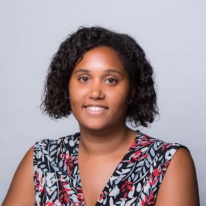 Foto da cabeça de Natasha Joyner, gerente do congresso